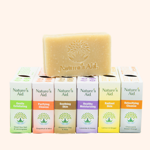 Bar Soap Variety Bundle with Bamboo Dish