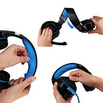 Over Ear / Headband Wired Headphones Plastic Gaming Earphone HIFI / with Volume Control / with Microphone Headset