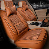 ODEER Car Seat Covers Seat Covers Beige / Coffee / Red PU(Polyurethane) Business For Universal