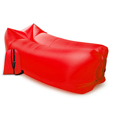 Air Sofa Inflatable Sofa Sleep lounger Air Bed Outdoor Camping Waterproof Portable Moistureproof Design-Ideal Couch 260*70 cm Oxford Camping / Hiking Beach Traveling for 1 person