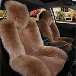 Car Seat Covers Seat Covers Pink / Camel / Wine Wool Common For universal