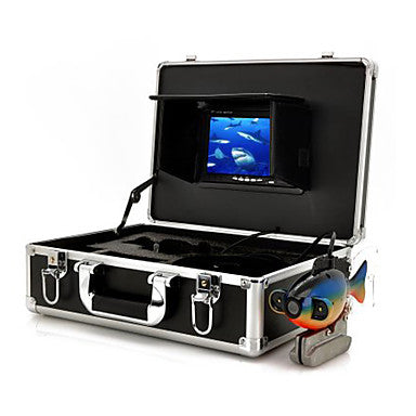 Underwater Camera Security Cameras Monitor With Recording (50M Cable Sea Bottom Exploration)