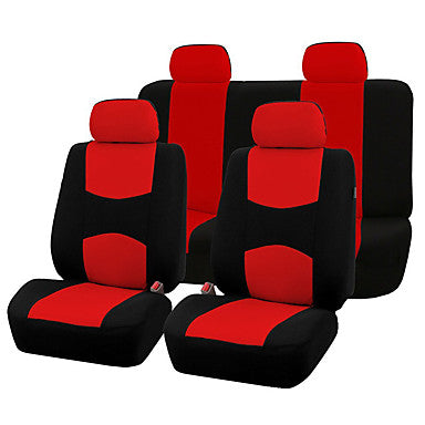 AUTOYOUTH Automobiles Seat Covers - Full Set Car Seat Covers Universal Fit Car Seat Protectors Auto Car Interior Accessories