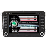 520WGNR04 7 inch 2 DIN Windows CE In-Dash Car DVD Player Touch Screen / GPS / Built-in Bluetooth for Volkswagen Support / RDS / Steering Wheel Control / Subwoofer Output / Games / SD / USB