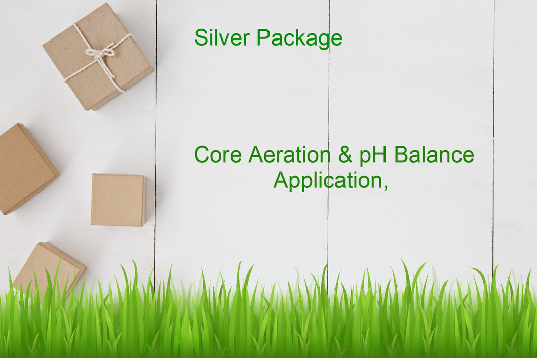 Silver Package - Core Aeration and pH Balance Application