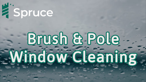 Brush & Pole Window Cleaning