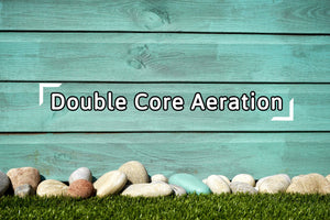 Double Core Aeration