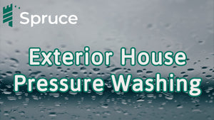 Exterior House Pressure Washing