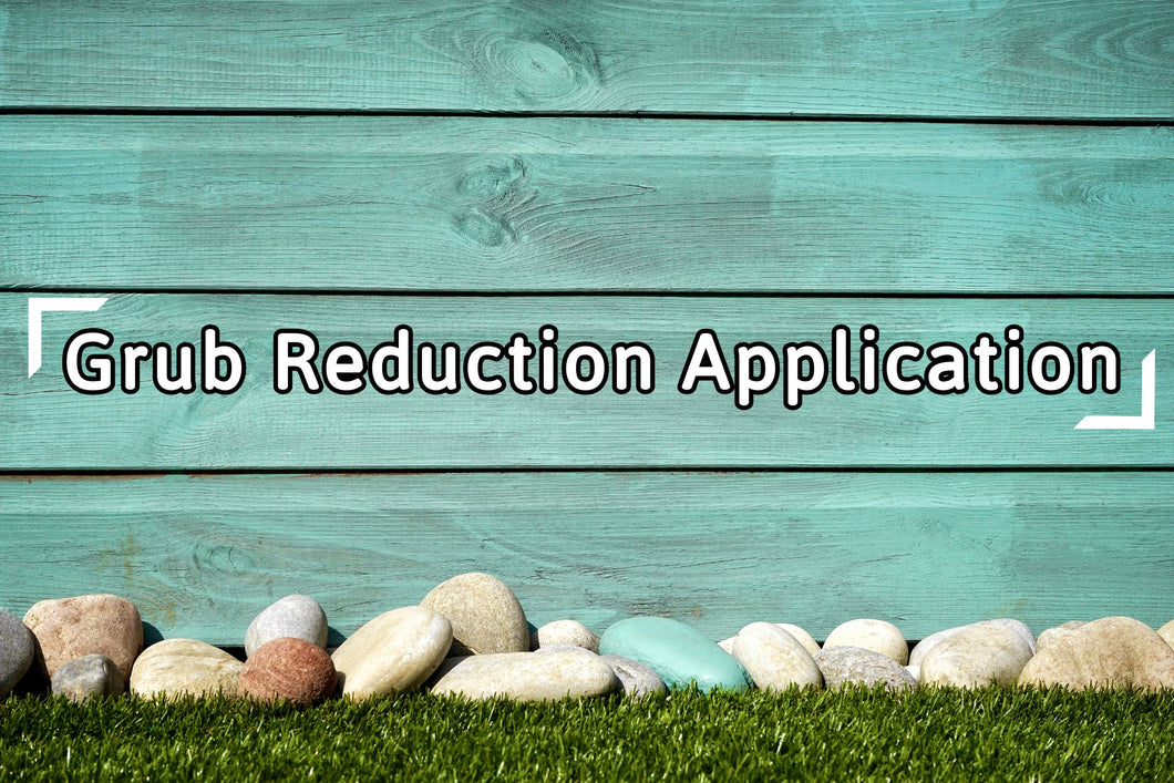 Fall Grub Reduction Application