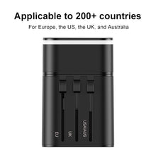 Load image into Gallery viewer, BASEUS Quick Charge 4.0 USB 3.0 Charger Universal Travel Adapter