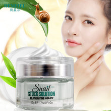 Load image into Gallery viewer, HEMEIEL Snail Cream Korean Cosmetics Anti-Aging Face Rejuvenating Moisturizer Hydrating Day Cream Brighten Whitening Skin Care