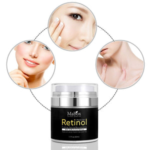 Moisturizer Whitening Cream Face Cream Vitamin E Collagen Retin Anti Aging Wrinkles Acne Hyaluronic Acid Green Tea Retinol 2.5%