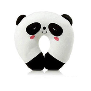 Soft U Shape Neck Pillow Memory Foam Kids Neck Support Rest Travel Pillow Cartoon Pillows For Airplane Car Sleep JZ01