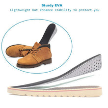 Load image into Gallery viewer, Soumit Height Increase Insoles for Men/Women Comfortable Memory Foam Air Cushion Heel lifts Shoe Insole Shoe Sole Inserts Pad