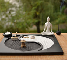 Load image into Gallery viewer, Calming Japanese Zen Mini Garden