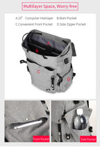 Load image into Gallery viewer, Mark Ryden Large Capacity Bag For Students (Water Repellent)