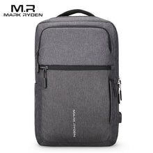 Load image into Gallery viewer, Mark Ryden Man Backpack USB Recharging 17 Inch Laptop Male Bag Water-repellent Travel Mochila Men