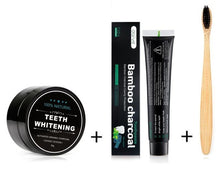 Load image into Gallery viewer, Activated Charcoal Teeth Whitening Full Kit