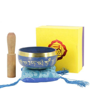 Tibetan Singing Bowl Decorative-wall-dishes Home Decoration Decorative Xizang Sacrifice Sacred Dharma Monks Lama