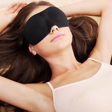 "Load image into Gallery viewer, 3D Natural ""Deep Sleep"" Sleep Mask (Best Seller)"