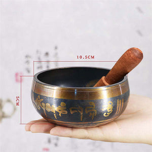 Beautiful HAND MADE Tibetan Singing Bowl (New)
