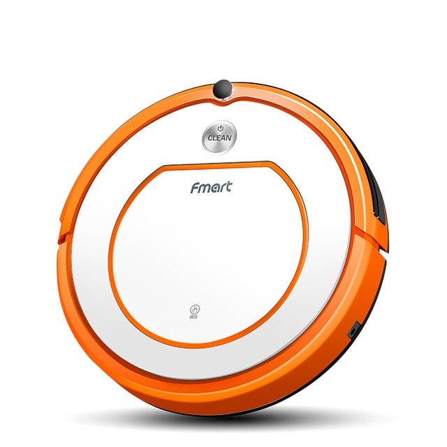 Fmart Robot Vacuum Cleaner YZ-Q2 Dry and Wet Cleaning for Hard Floor Planned Cleaning with 1000pa Suction Vacuum Cleaner