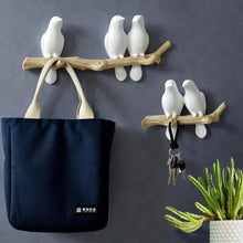 Load image into Gallery viewer, Birds On Branch Wall Hooks