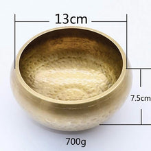 Load image into Gallery viewer, Handmade Functional Tibetan Bowl (New Designs)