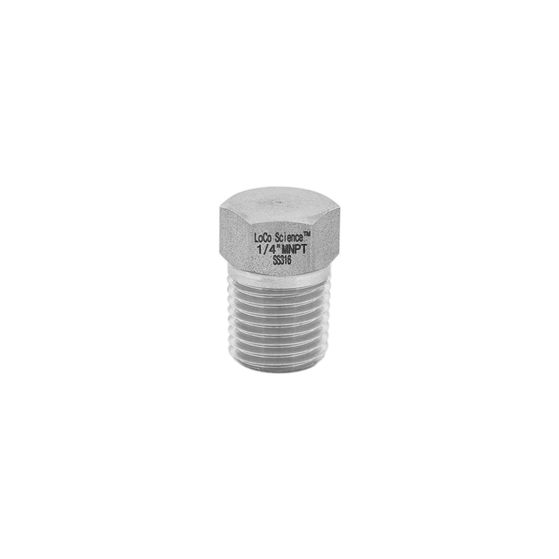 "1/4"" MNPT Hex Plug 