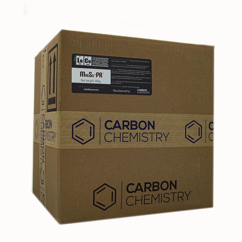 20KG variant of Magsil PR by Carbon Chemistry. MagSil PR is a filtration media sold by LoCo Science.