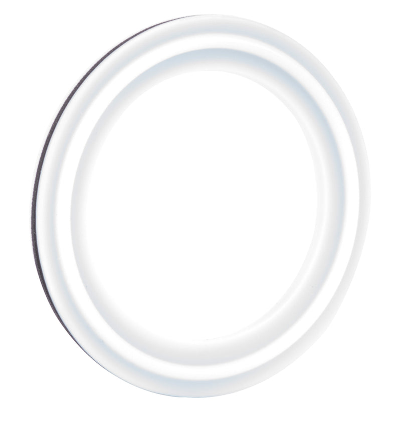 "2"" PTFE Envelope Tri-Clamp Gasket w/ Viton Ring 