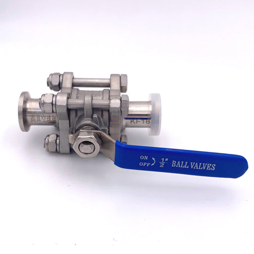 "KF-16 1/2"" Sanitary Ball Valve - loco-science"