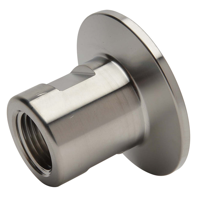 "KF-40 Flange to 1/2"" NPT Female Vacuum Fitting Adapter"