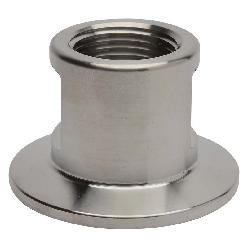 "KF-40 Flange to 3/4"" NPT Female Vacuum Fitting Adapter"