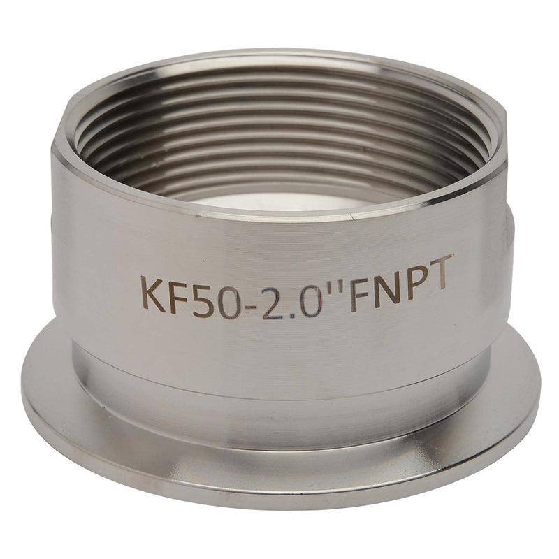 "KF-50 to 2"" NPT Female Vacuum Fitting"