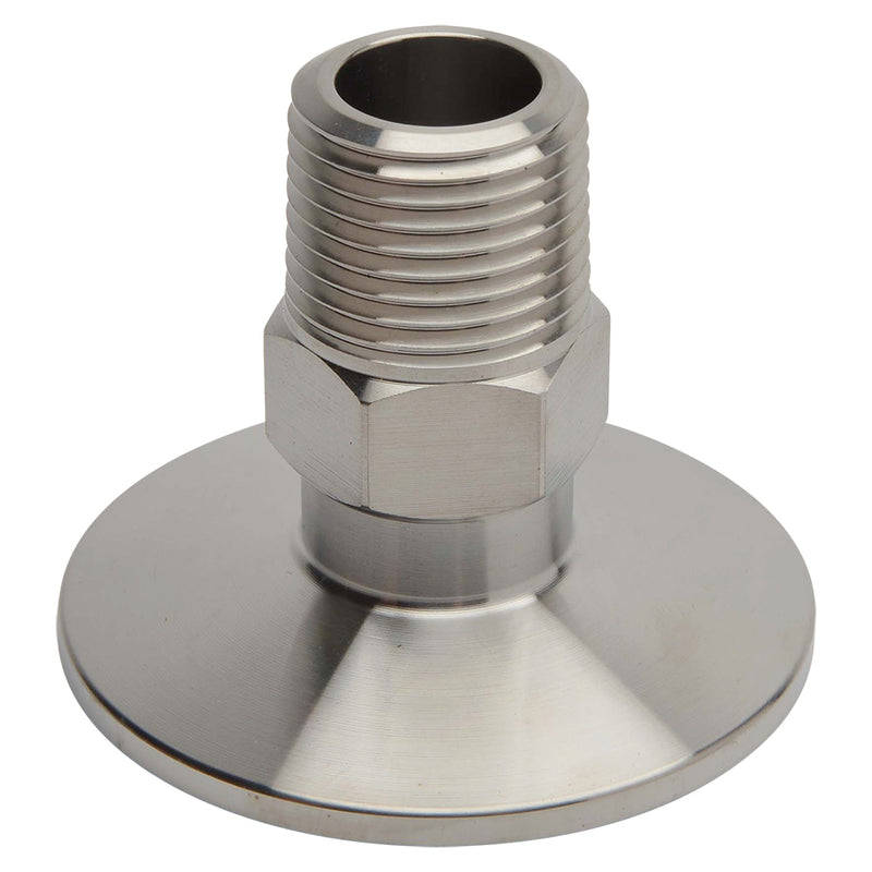 "KF-40 Flange to 1/2"" NPT Male Vacuum Fitting Adapter"