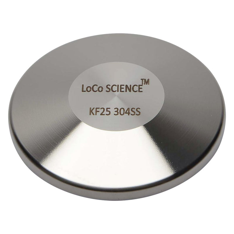KF-25 Flange Vacuum Fitting End Blank | Blind Flange Cap