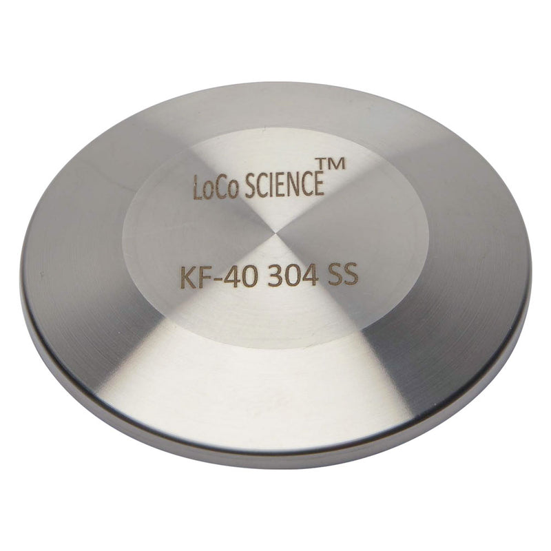 KF-40 Flange Vacuum Fitting End Blank | Blind Flange Cap