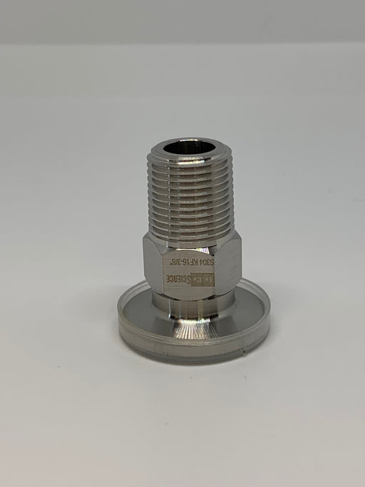 "KF-16 to 3/8"" NPT Male Vacuum Fitting - loco-science"