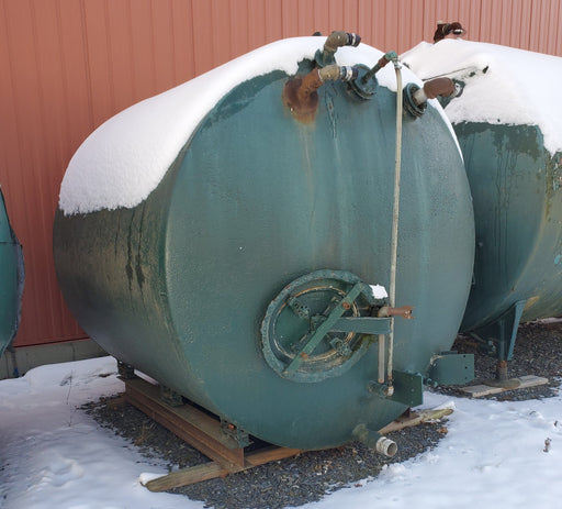 2,000 +/- Gallon Glass Lined Vacuum Tank