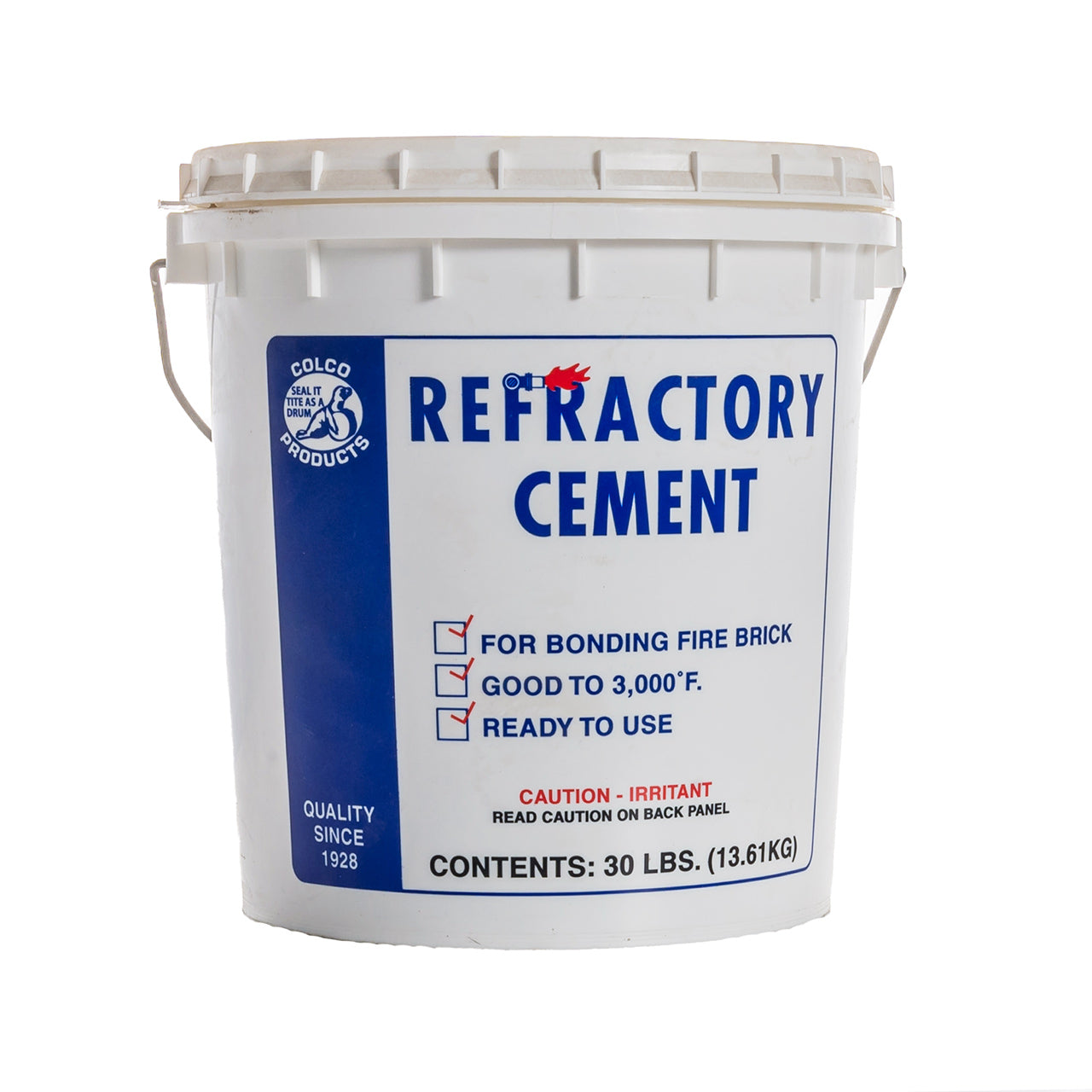 30# Pail Refractory Cement