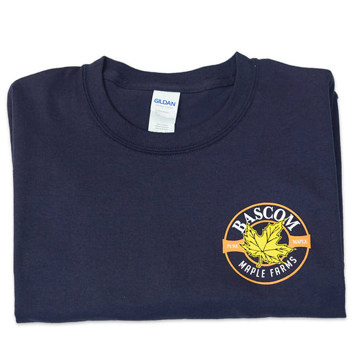 Bascom Maple Farms Navy Tee Shirt