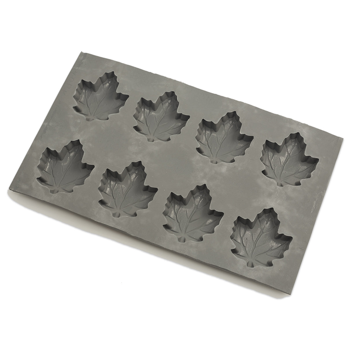 2 oz Maple Leaf Rubber Candy Mold (8 Cavity)