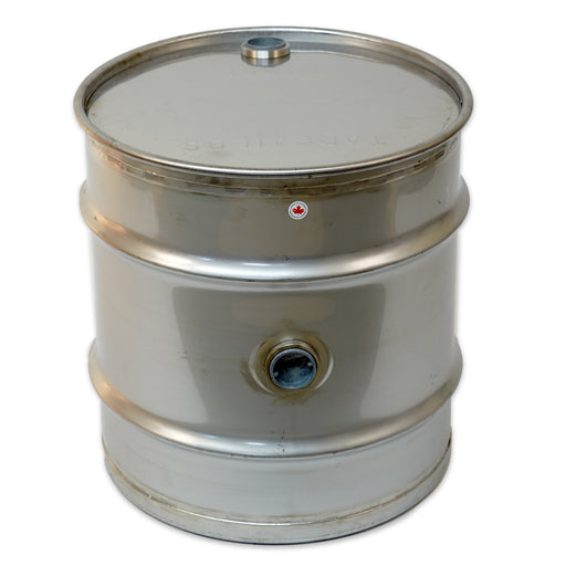 30 Gallon Stainless Steel Drum w/2 Bungs
