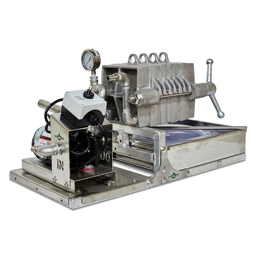 "CDL 7"" Filter Press with 4 Frames and a 1/2"" Electric Diaphragm Pump"
