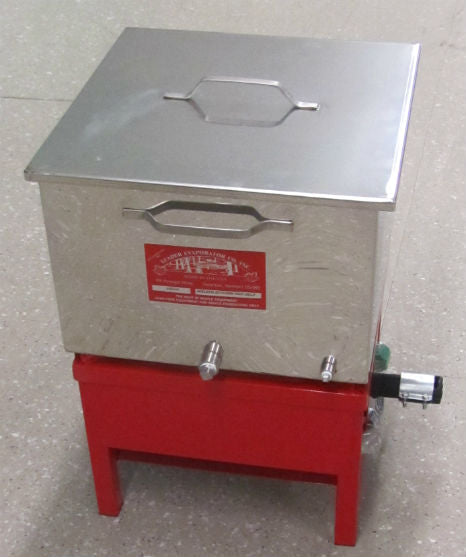 "16"" x 16"" Gas Canner w/ Pan, Rack, Cover and Burner"