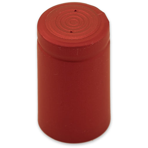 Cranberry 28mm Heat Shrink Capsule (100/pack)