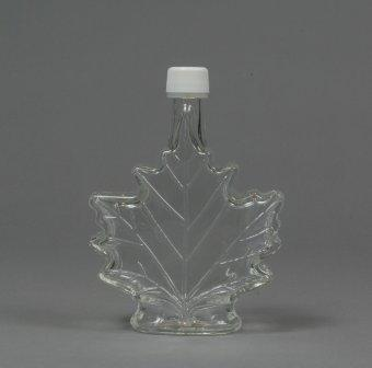 250 ml Glass Leaf Bottle (12 per Case)