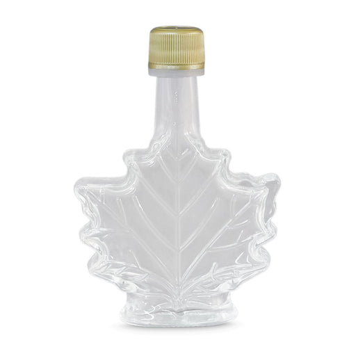 50 ml Glass Leaf Nip Bottle (48 per Case)