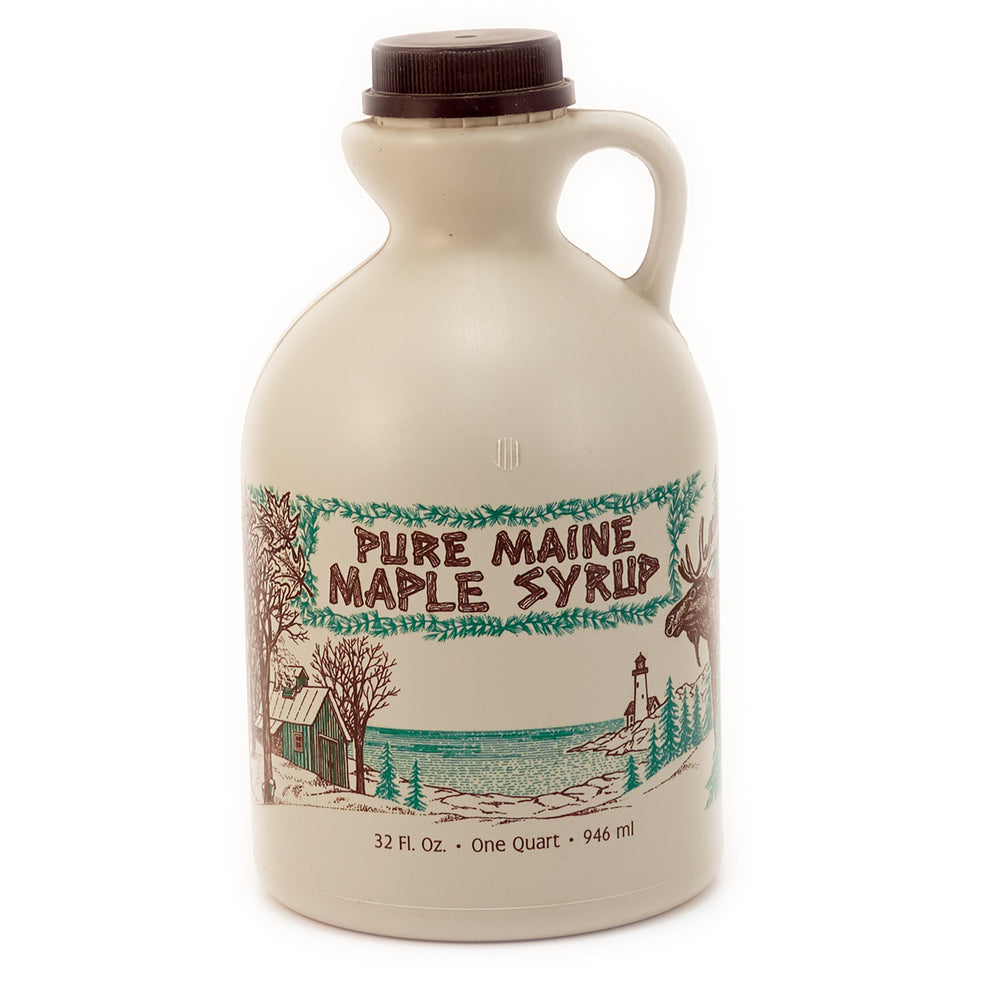 Maine Moose 2-Color Quart Jug
